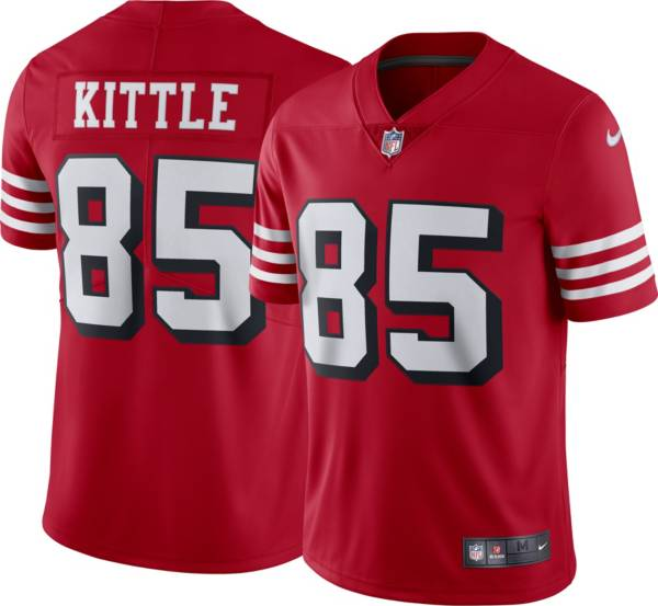 Nike Men's San Francisco 49ers George Kittle #85 Alternate Red Limited Jersey product image
