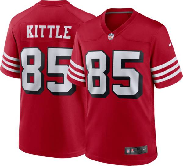 Nike Men's San Francisco 49ers George Kittle #85 Alternate Red Game Jersey product image