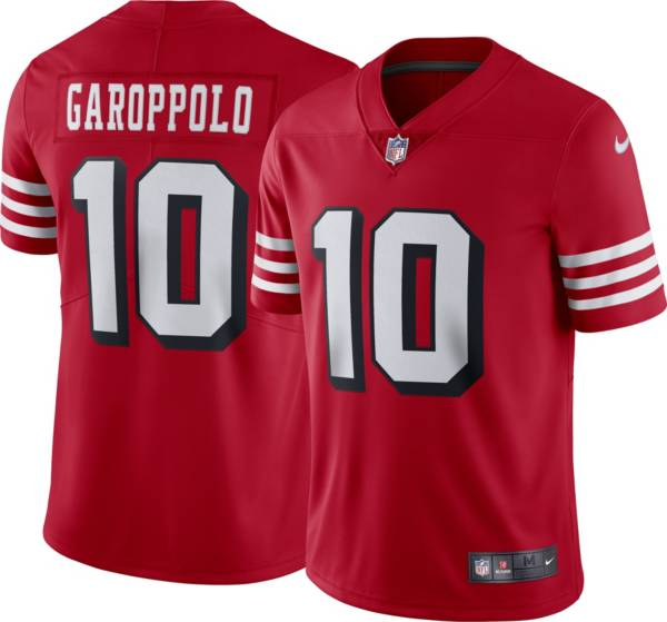Nike Men's San Francisco 49ers Jimmy Garoppolo #10 Alternate Red Limited Jersey product image