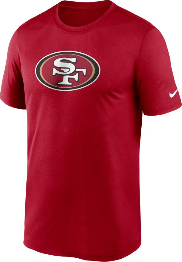 Nike Men's San Francisco 49ers Legend Logo Red T-Shirt product image
