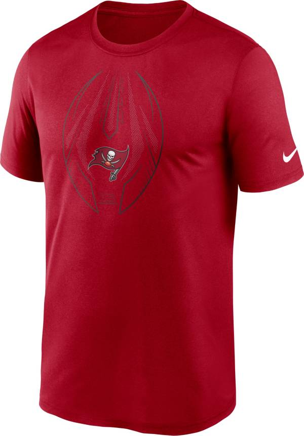 Nike Men's Tampa Bay Buccaneers Legend Icon Red Performance T-Shirt product image
