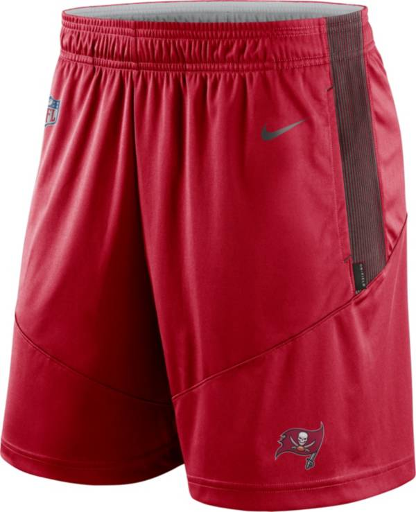 Nike Men's Tampa Bay Buccaneers Sideline Dri-FIT Gym Red Performance Shorts product image
