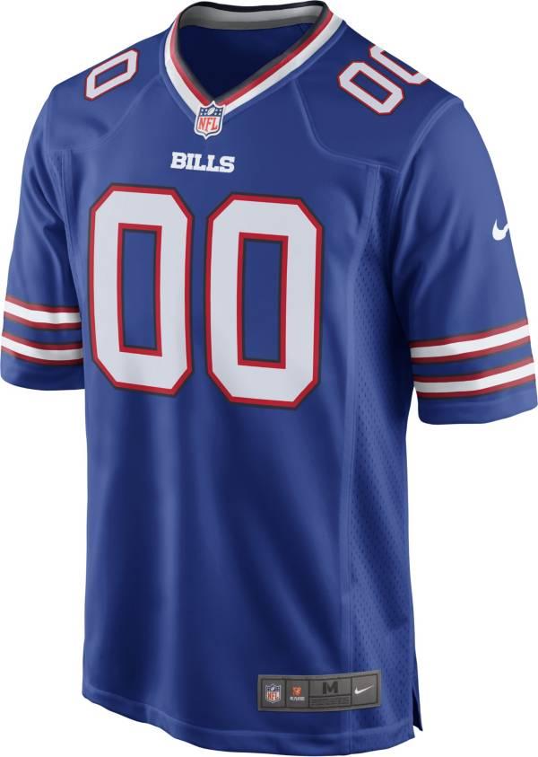 Nike Men's Buffalo Bills Gregory Rousseau Royal Game Jersey product image