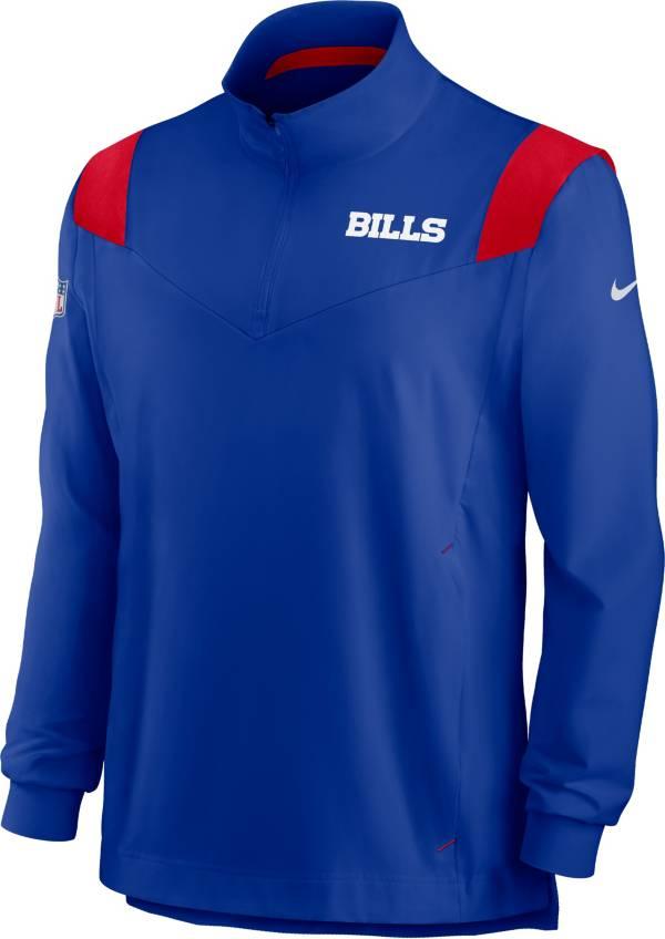 Nike Men's Buffalo Bills Coaches Sideline Long Sleeve Old Royal Jacket product image