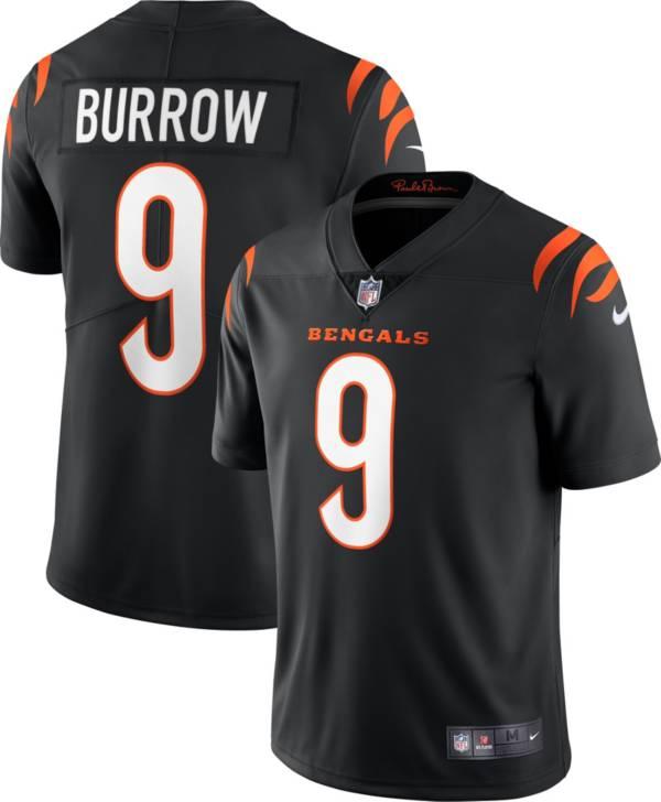 Nike Men's Cincinnati Bengals Joe Burrow #9 Black Limited Jersey product image