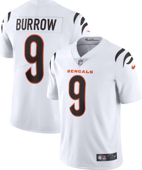 Nike Men's Cincinnati Bengals Joe Burrow #9 White Limited Jersey product image