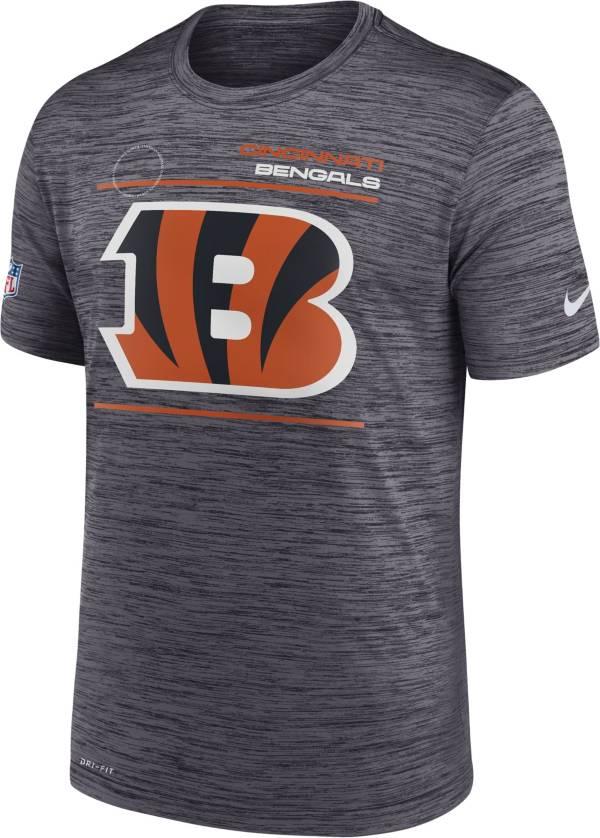 Nike Men's Cincinnati Bengals Sideline Legend Velocity Black Performance T-Shirt product image