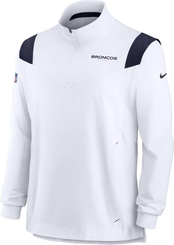 Nike Men's Denver Broncos Coaches Sideline Long Sleeve White Jacket product image
