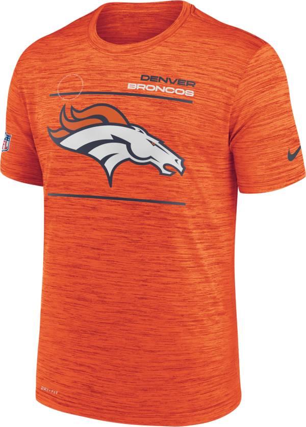 Nike Men's Denver Broncos Sideline Legend Velocity Orange Performance T-Shirt product image