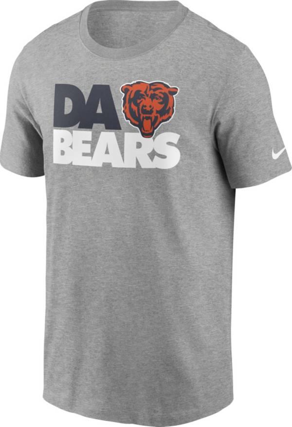 Nike Men's Chicago Bears Da Bears Grey T-Shirt product image