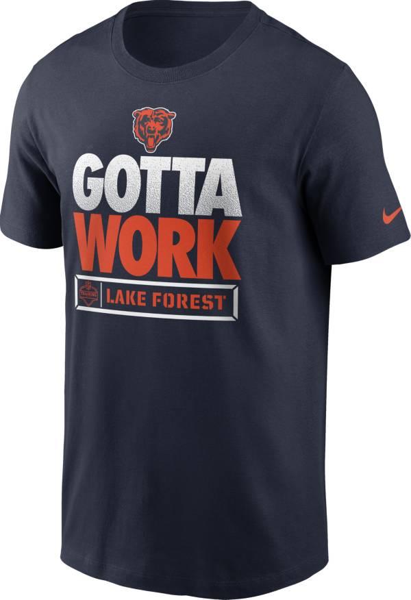 Nike Men's Chicago Bears Gotta Work Essential Navy T-Shirt product image