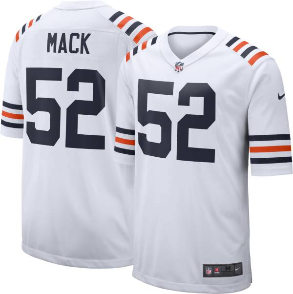 Nike Men's Chicago Bears Khalil Mack #52 Alternate White Game Jersey product image