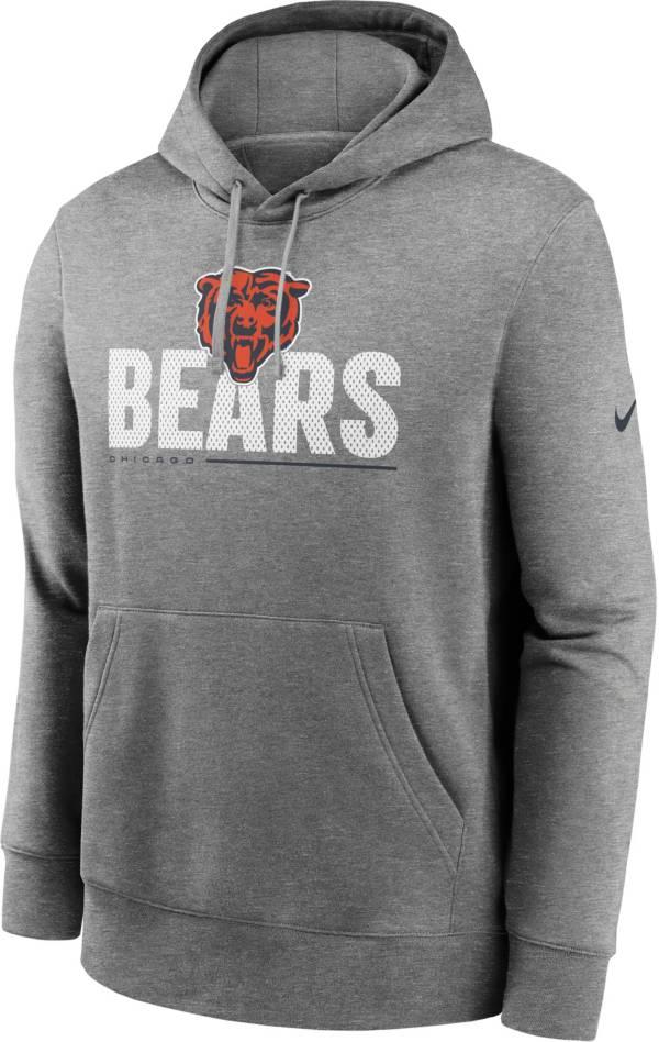 Nike Men's Chicago Bears Impact Club Grey Hoodie product image