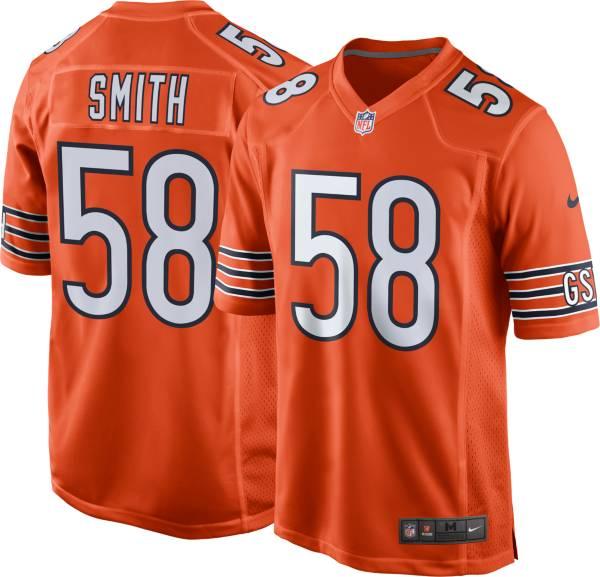 Nike Men's Chicago Bears Roquan Smith #58 Alternate Orange Game Jersey product image