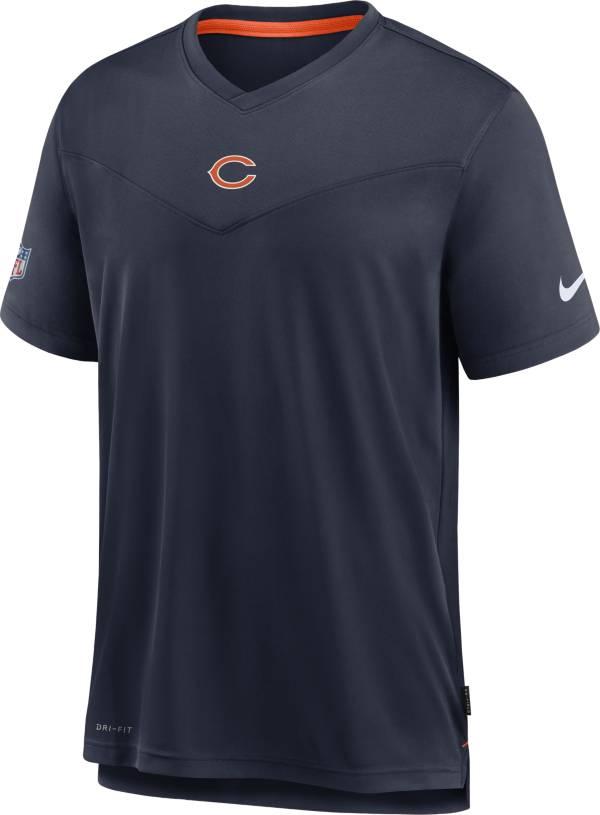 Nike Men's Chicago Bears Sideline Coaches Navy T-Shirt product image