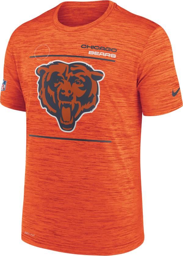 Nike Men's Chicago Bears Sideline Legend Velocity Orange Performance T-Shirt product image