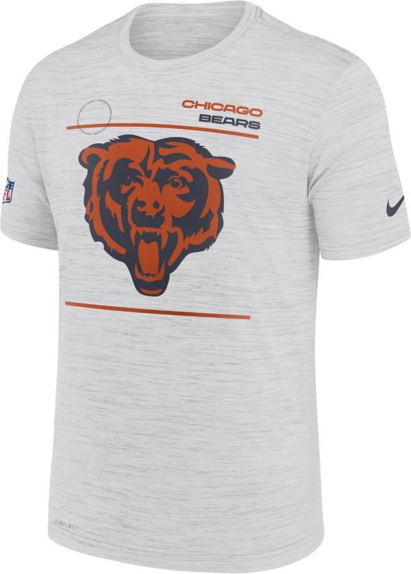 Nike Men's Chicago Bears Sideline Legend Velocity White Performance T-Shirt product image