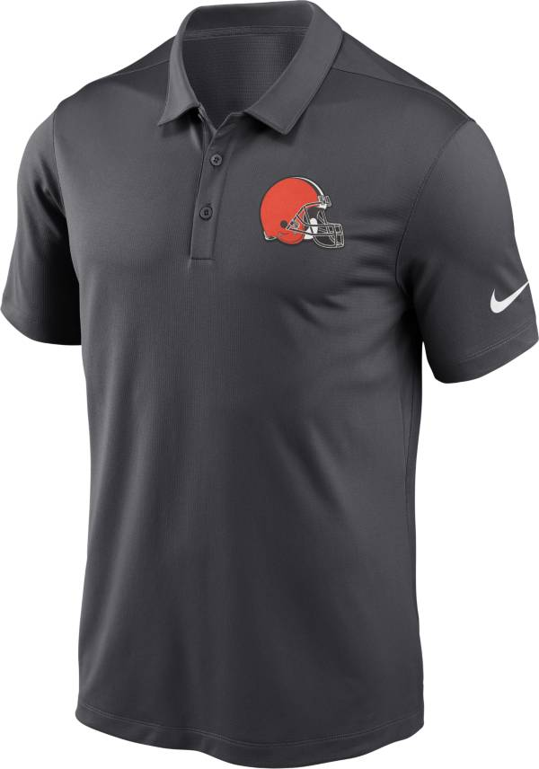 Nike Men's Cleveland Browns Franchise Anthracite Polo product image