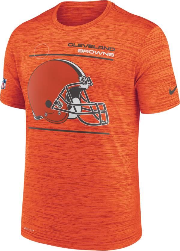 Nike Men's Cleveland Browns Sideline Legend Velocity Orange T-Shirt product image