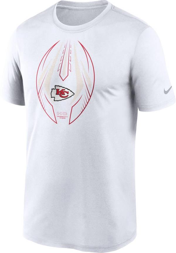 Nike Men's Kansas City Chiefs Legend Icon White Performance T-Shirt product image