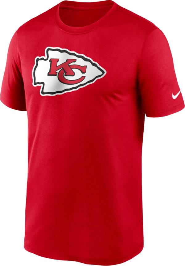 Nike Men's Kansas City Chiefs Legend Logo Red T-Shirt product image