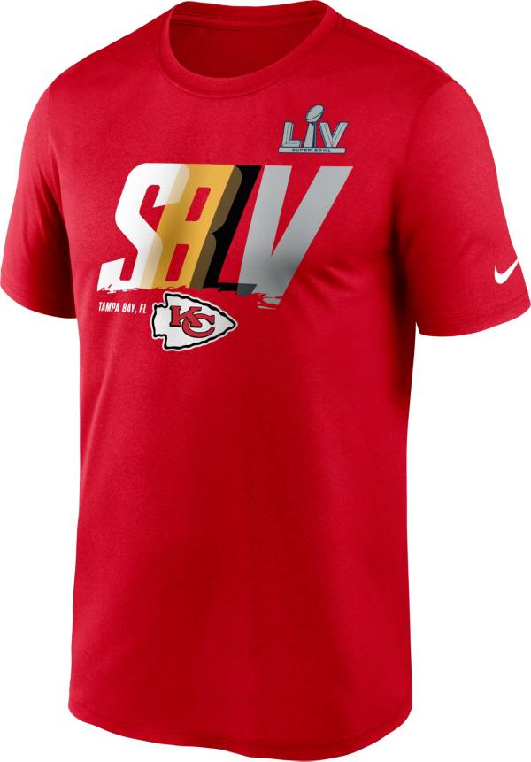 Nike Men's Kansas City Chiefs Super Bowl LV Bound Lockup T-Shirt product image