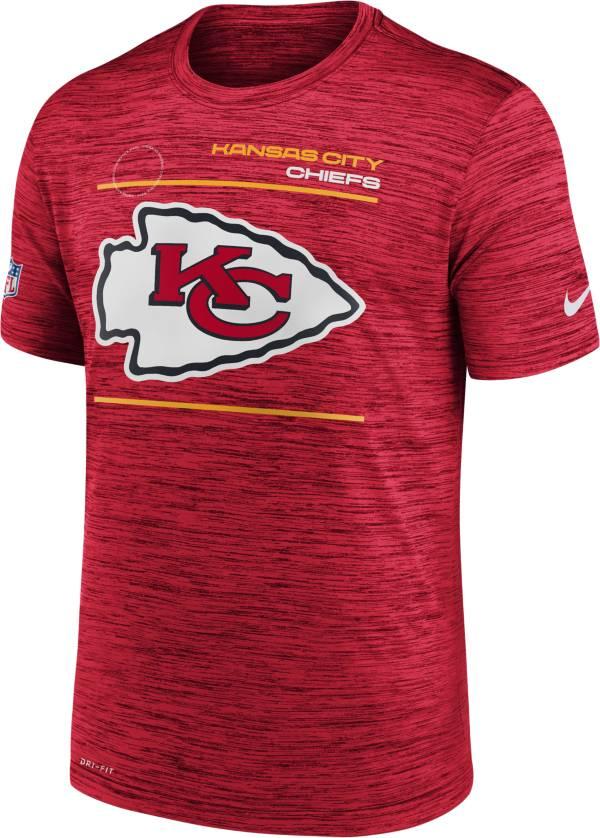 Nike Men's Kansas City Chiefs Sideline Legend Velocity Red Performance T-Shirt product image
