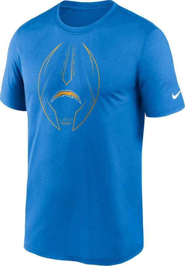 Nike Men's Los Angeles Chargers Legend Icon Blue Performance T-Shirt product image