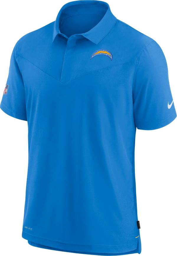 Nike Men's Los Angeles Chargers Sideline Coaches Blue Polo product image