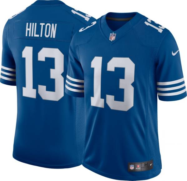 Nike Men's Indianapolis Colts T.Y. Hilton #13 Alternate Blue Limited Jersey product image