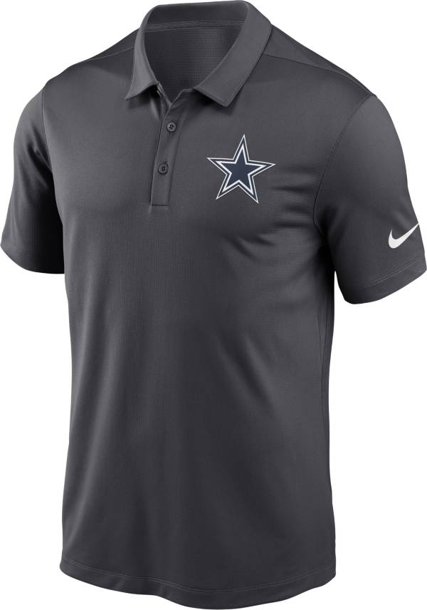 Nike Men's Dallas Cowboys Franchise Anthracite Polo product image