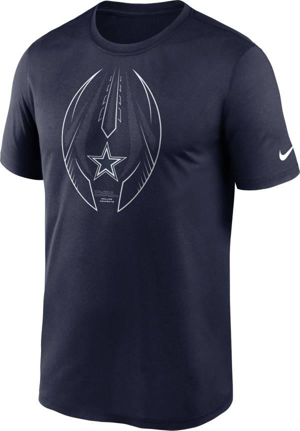Nike Men's Dallas Cowboys Legend Icon Navy Performance T-Shirt product image