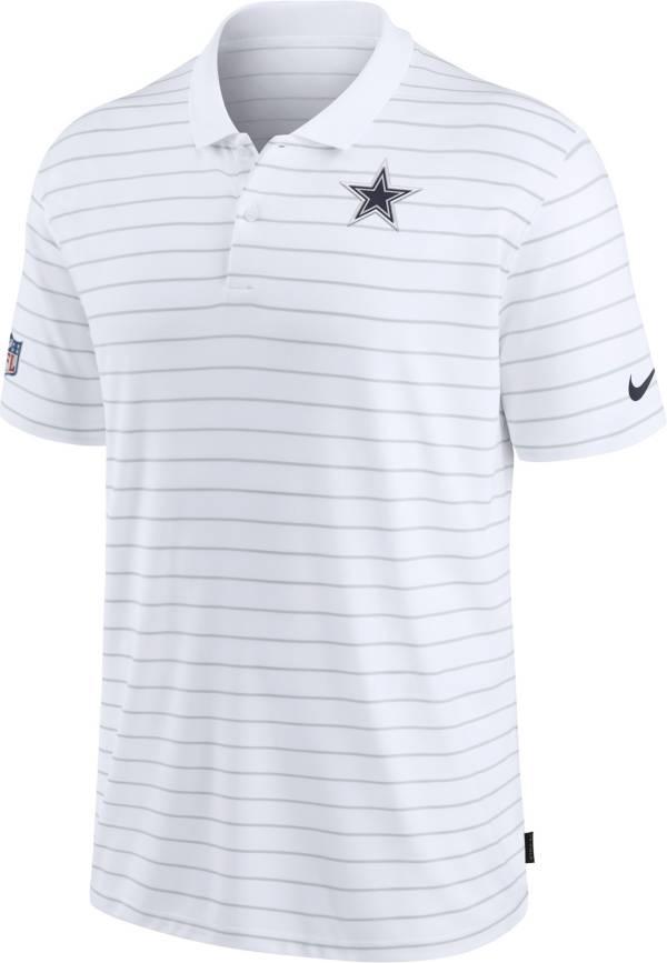 Nike Men's Dallas Cowboys Sideline Coach White Polo product image