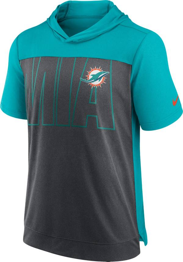 Nike Men's Miami Dolphins Dri-FIT Hooded T-Shirt product image