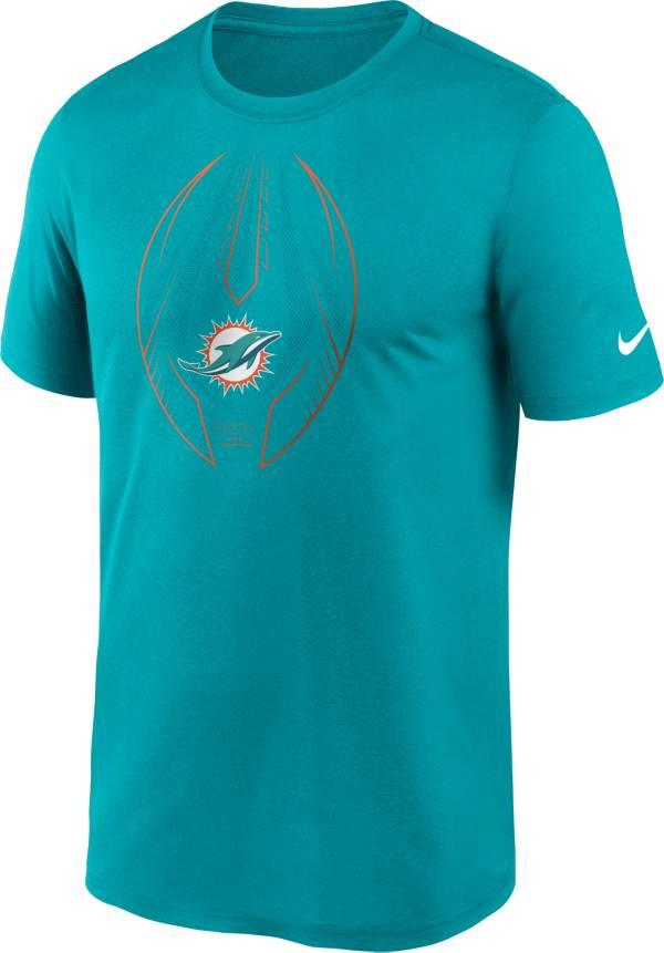Nike Men's Miami Dolphins Legend Icon Aqua Performance T-Shirt product image