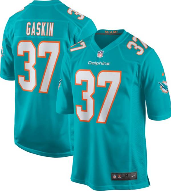 Nike Men's Miami Dolphins Myles Gaskin #37 Green Game Jersey product image