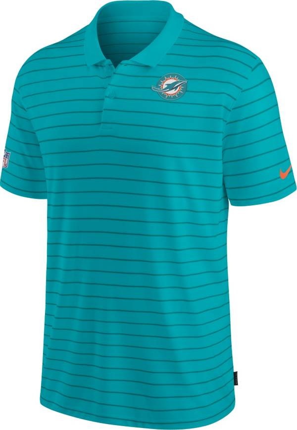 Nike Men's Miami Dolphins Sideline Early Season Green Performance Polo product image