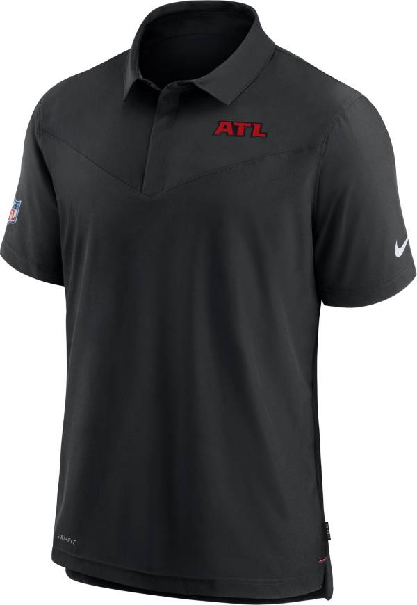 Nike Men's Atlanta Falcons Sideline Coaches Black Polo product image
