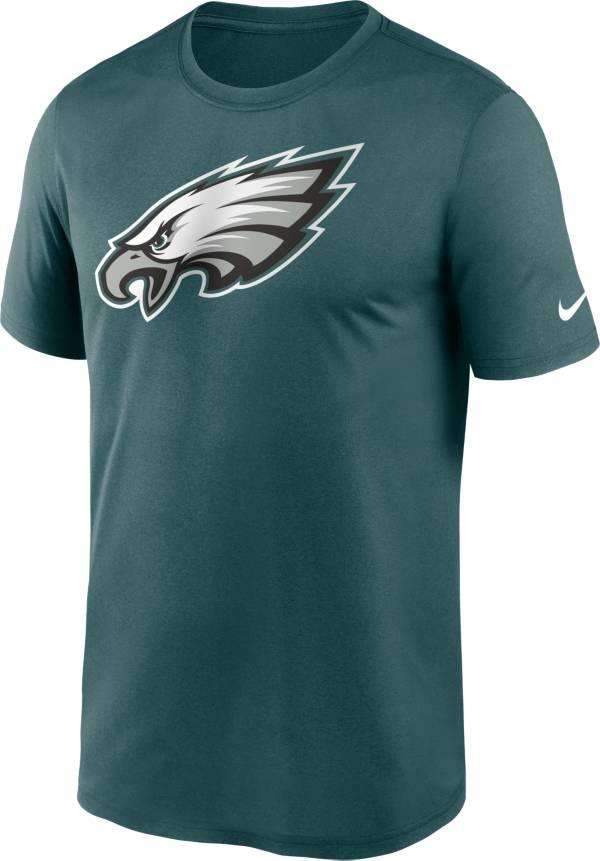 Nike Men's Philadelphia Eagles Legend Logo Green T-Shirt product image