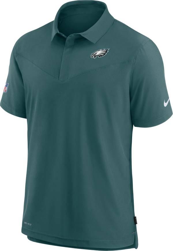 Nike Men's Philadelphia Eagles Sideline Coaches Teal Polo product image
