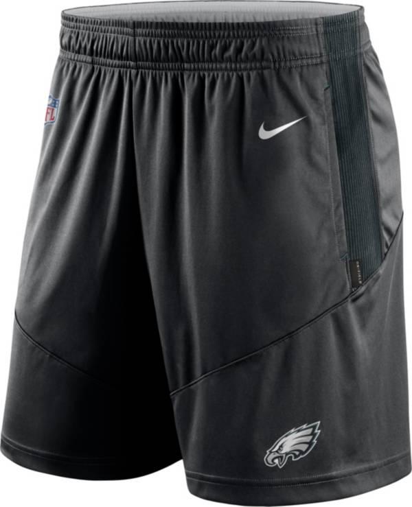 Nike Men's Philadelphia Eagles Sideline Dri-FIT Black Performance Shorts product image