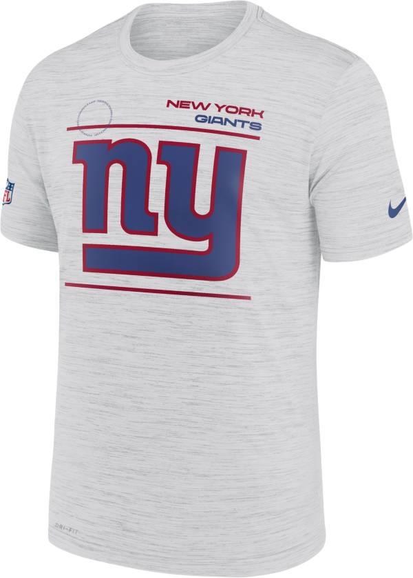 Nike Men's New York Giants Sideline Legend Velocity White T-Shirt product image