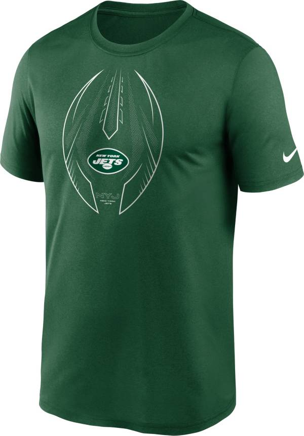Nike Men's New York Jets Legend Icon Green Performance T-Shirt product image