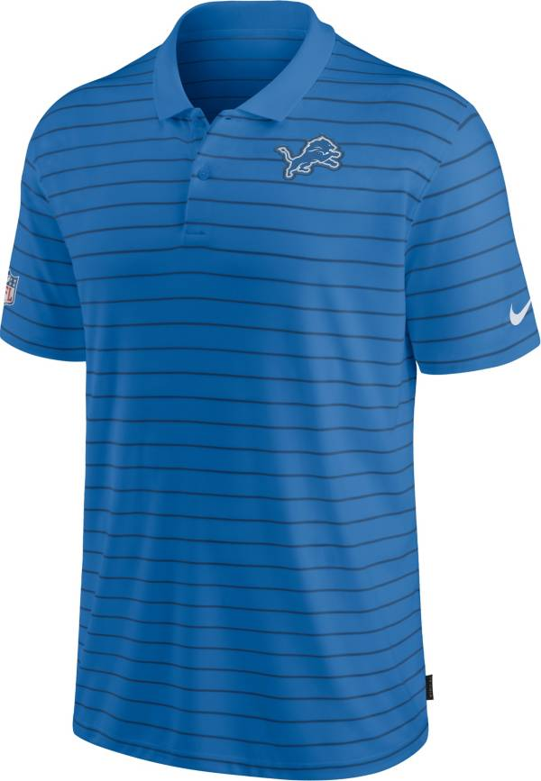 Nike Men's Detroit Lions Sideline Early Season Blue Performance Polo product image