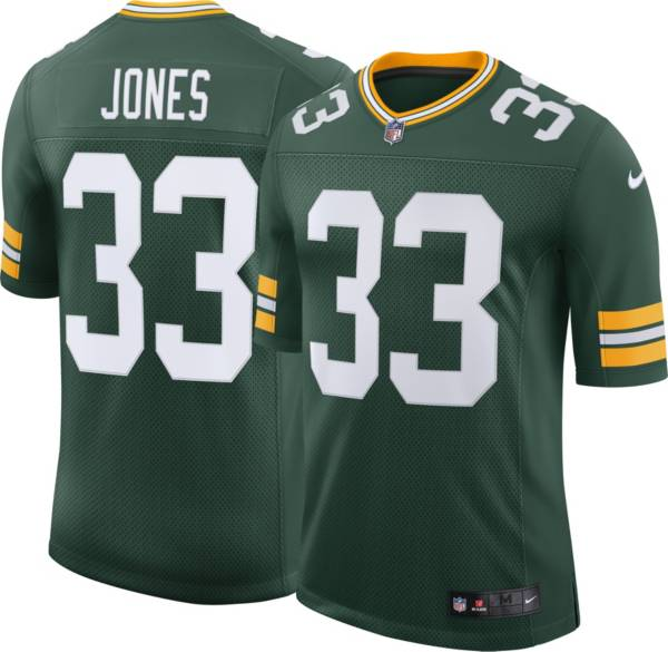 Nike Men's Green Bay Packers Aaron Jones #33 Green Alternate Limited Jersey product image