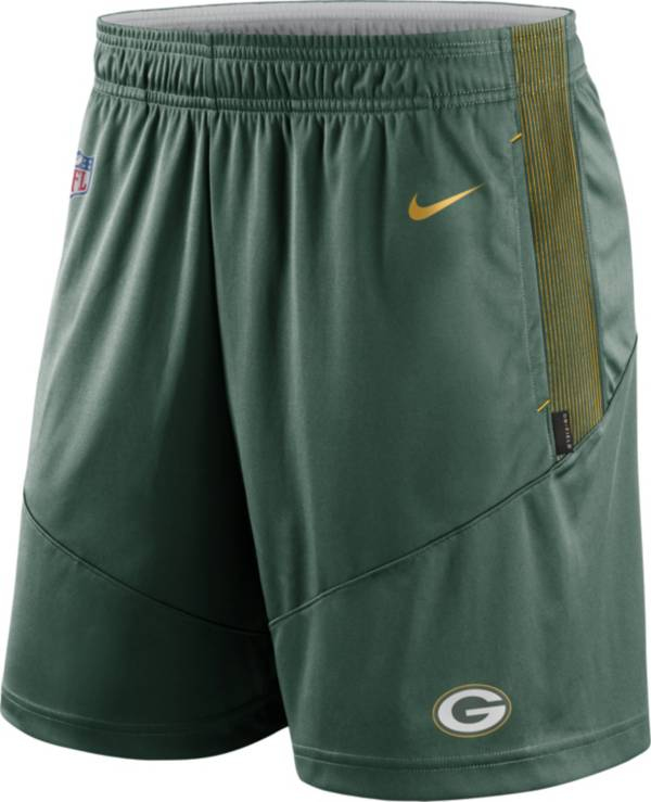 Nike Men's Green Bay Packers Sideline Dri-FIT Fir Performance Shorts product image