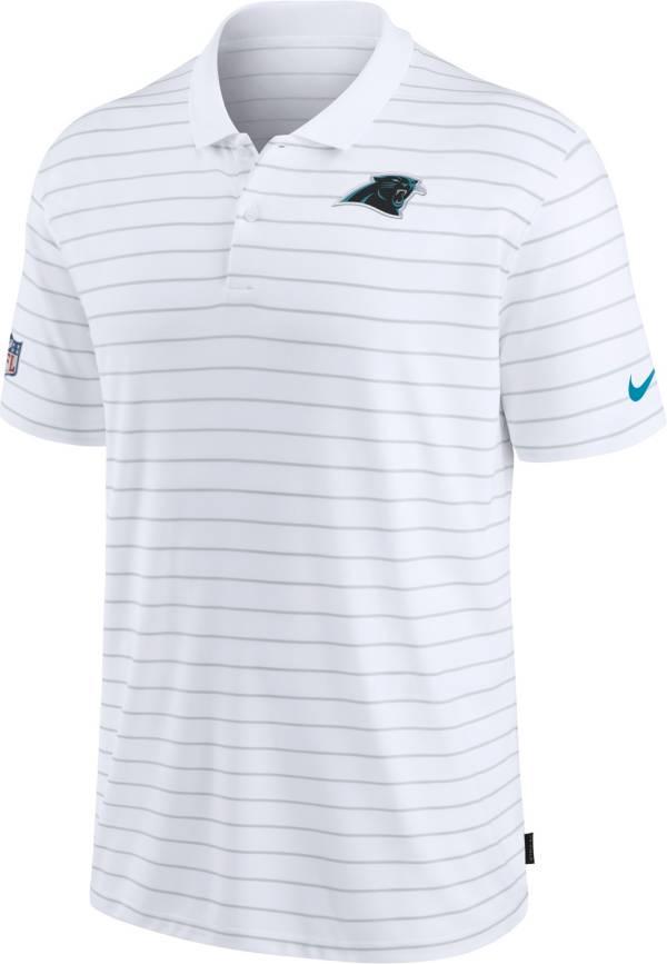 Nike Men's Carolina Panthers Sideline Early Season White Performance Polo product image
