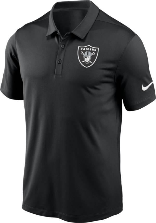 Nike Men's Las Vegas Raiders Franchise Black Polo product image