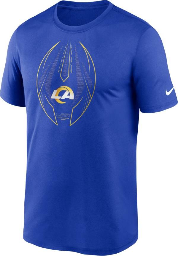 Nike Men's Los Angeles Rams Legend Icon Royal Performance T-Shirt product image