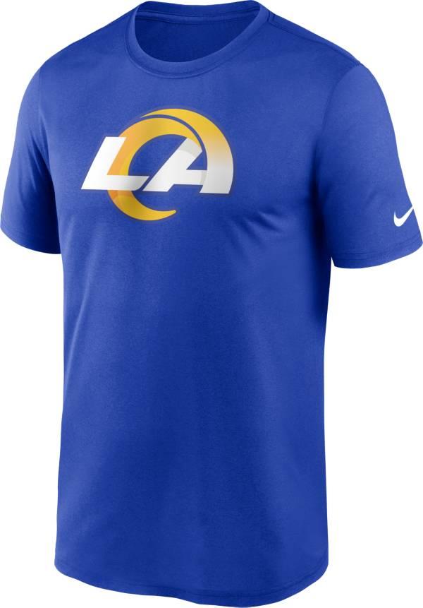 Nike Men's Los Angeles Rams Legend Logo Royal T-Shirt product image